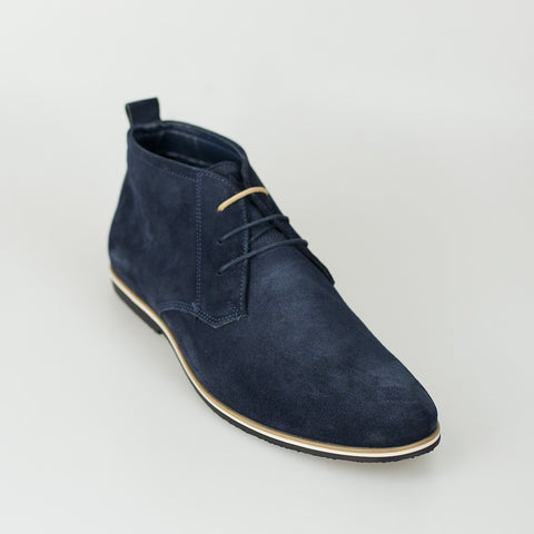 House Of Cavani Signature - Desert Boots Navy