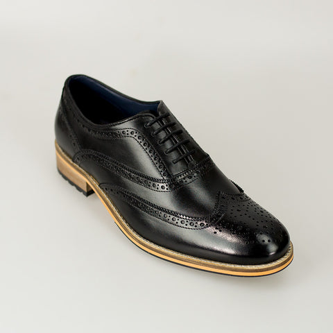 House Of Cavani Signature - Lake Black Shoes