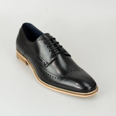 House Of Cavani Signature - Rome Black Shoes