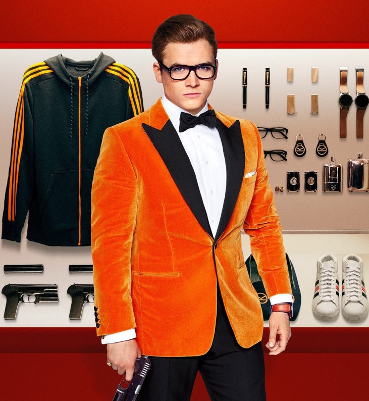 Kingsman Orange Blazer Cavani