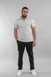 Kobe Grey Polo Shirt