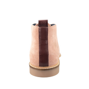 Sahara Dusty Pink Suede Boots
