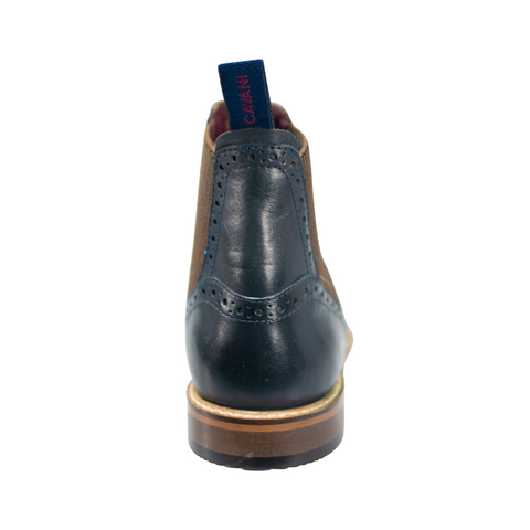 Moriarty Navy Boots