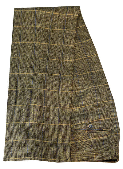 Albert Brown Tweed Extra Large Trousers