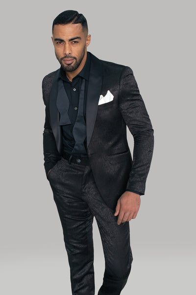 Bella Black Two Piece Suit