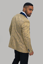 Bella Champagne Slim Fit Blazer