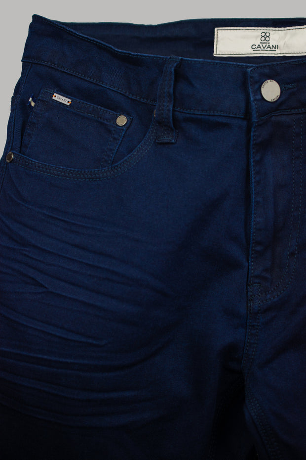 Brad Navy Denim Jeans