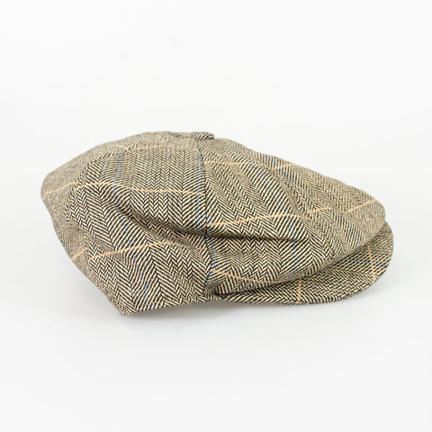 Albert Brown Baker Boy Cap
