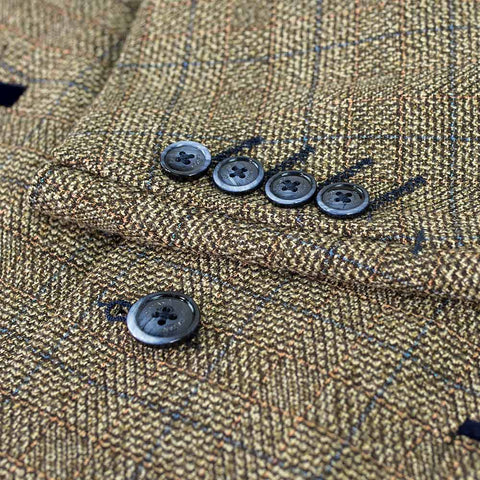 Ascari Brown Tweed Suit