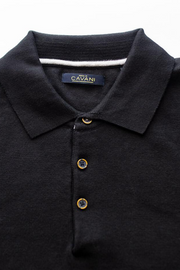Cavani Black Polo Shirt