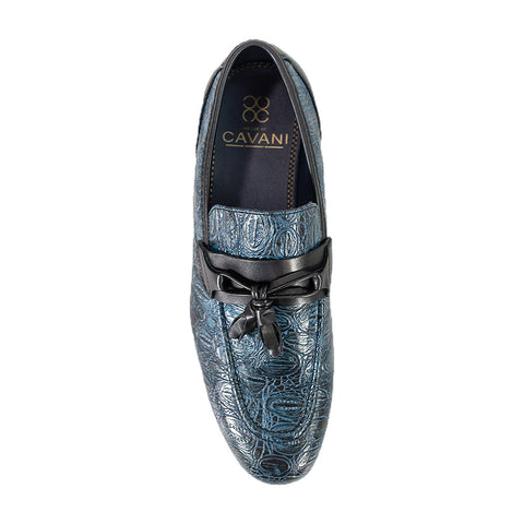 Brindisi Navy Loafer