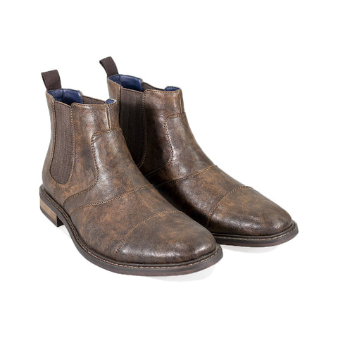 Bristol Brown Chelsea Boots