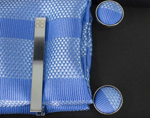 No.7 Light Blue Tie Gift Set