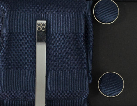 No.7 Navy Tie Gift Set