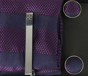 No.7 Purple Tie Gift Set