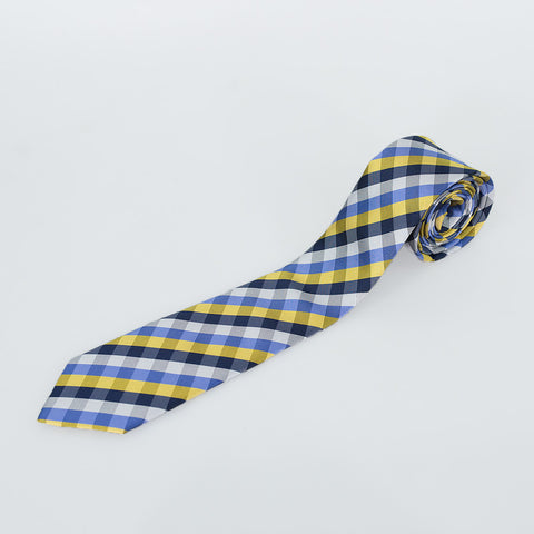 No.8 Blue & Yellow Tie Gift Set
