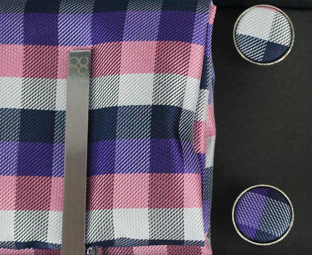 No.8 Purple & Pink Tie Gift Set