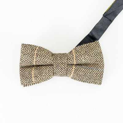 Albert Brown Bow Tie Set