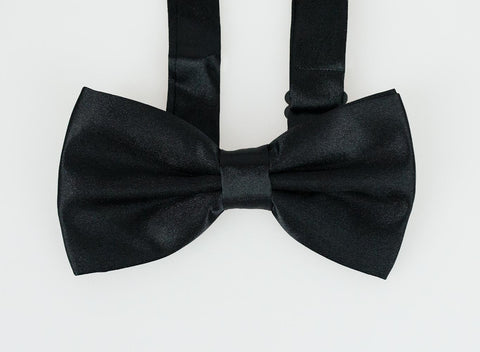 Black Bow Tie Set - Cavani