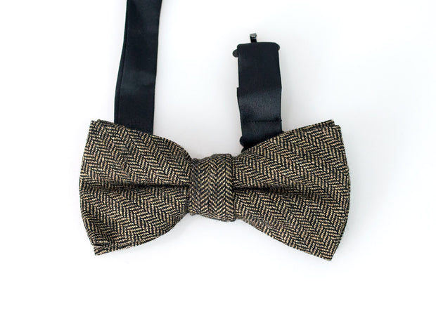 House Of Cavani Martez Brown Bow Tie Set