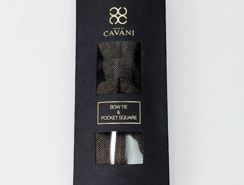 Martez Brown Bow Tie Set - Cavani