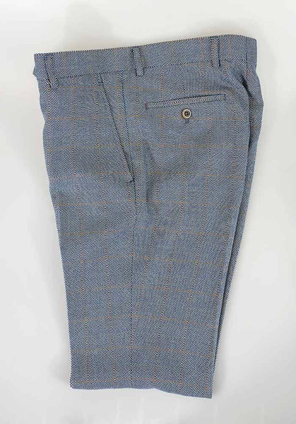 Del Ray Duck Egg Blue Slim Fit Trousers