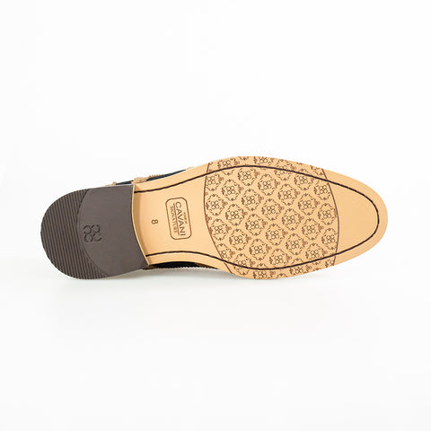 Ellington Navy Tan Formal Shoes