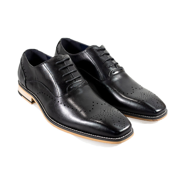 Fabian Black Formal Shoes