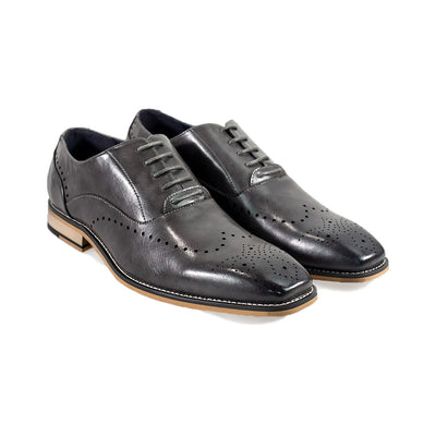 Fabian Grey Formal Shoes