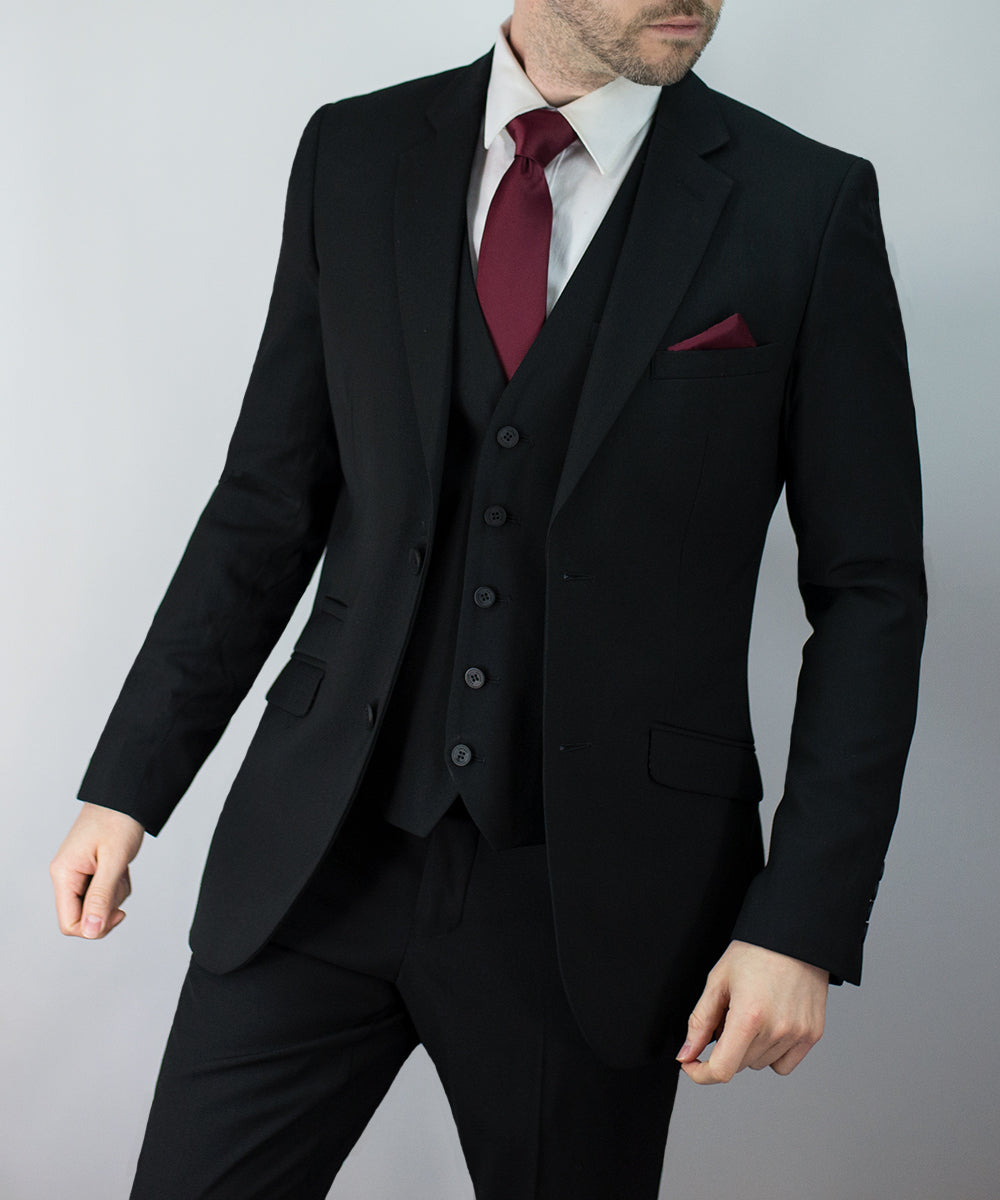 Black Suits | Felix Black Suit | House Of Cavani