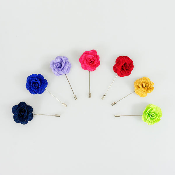 NEW Flower Lapel Suit Pins