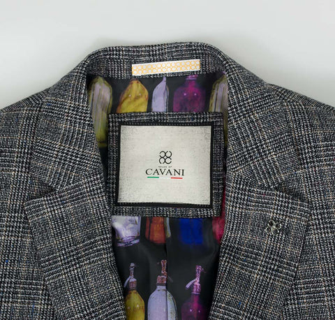 Henry Grey Tweed Check Suit