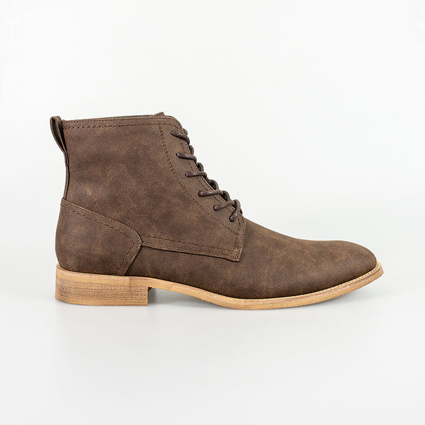 Hurricane Brown Lace Up Boots