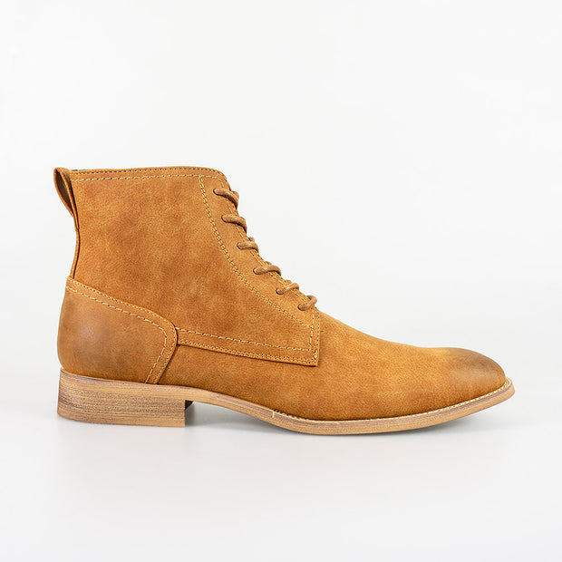 Hurricane Tan Lace Up Boots