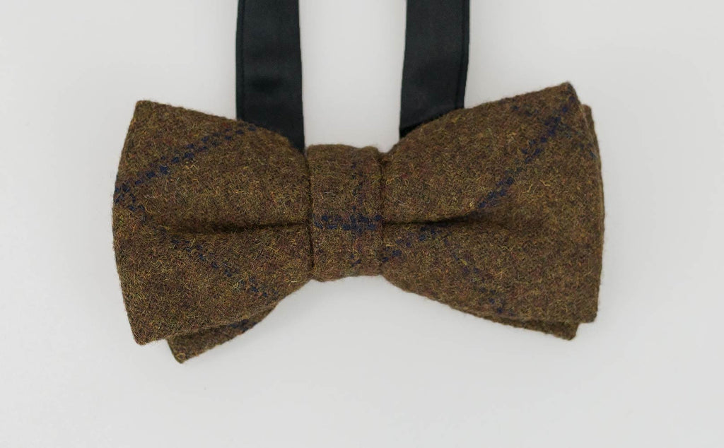 Kemson Tan Bow Tie Set - Cavani
