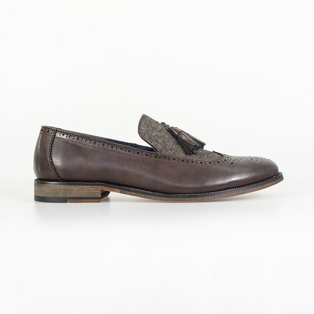 Lucius Brown Loafers