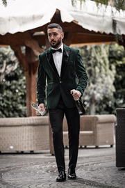 Rosa Forest Green Blazer