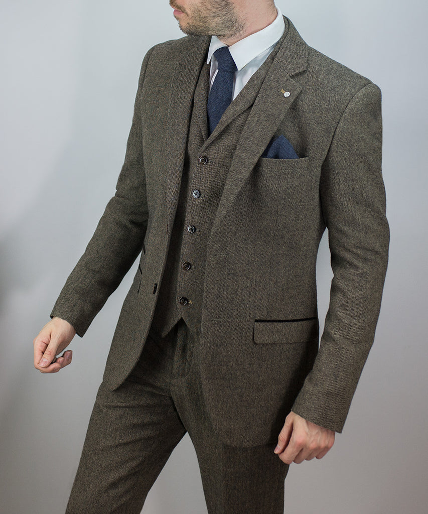 Tweed Suit Martez Brown House Of Cavani Wedding