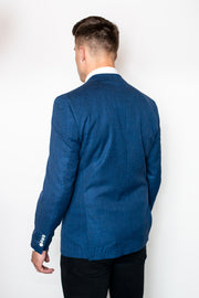 Miami Blue Slim Fit Blazer