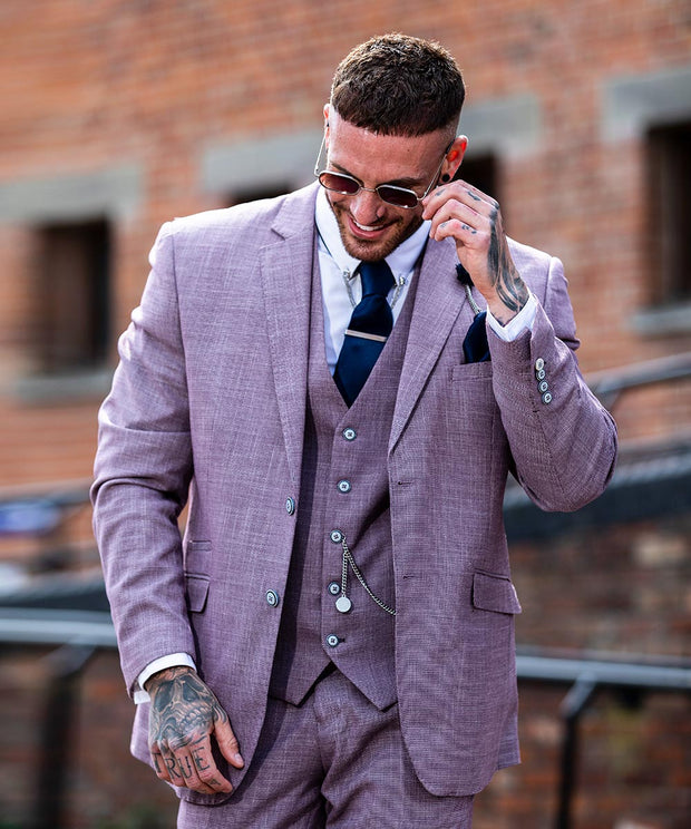 Miami Lilac Slim Fit Suit
