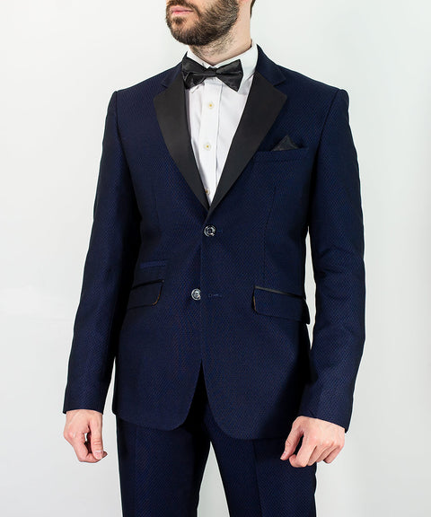 Myers Navy Two Piece Suit