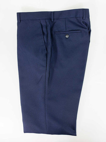 Myers Navy Slim Fit Trousers