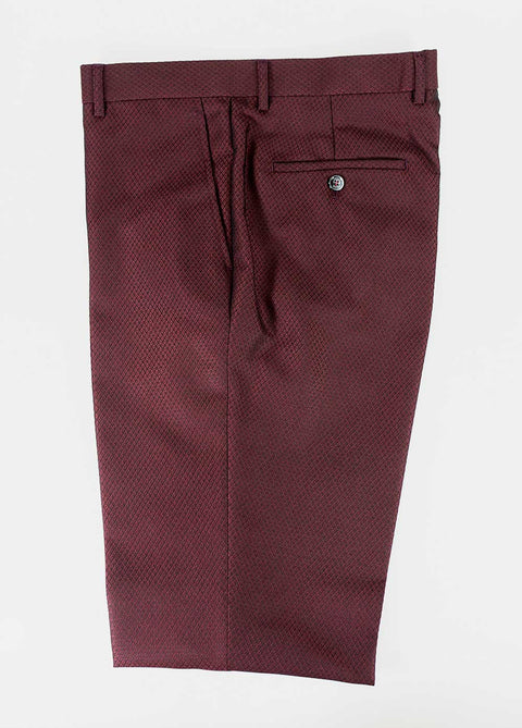 Myers Wine Slim Fit Trousers