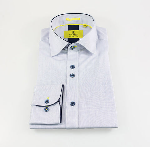 Opus Sky Blue Stripe Shirt
