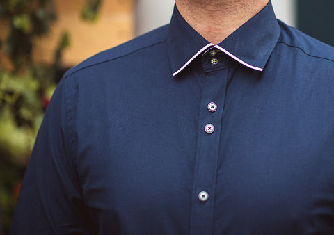 Perry Navy Premium Shirt
