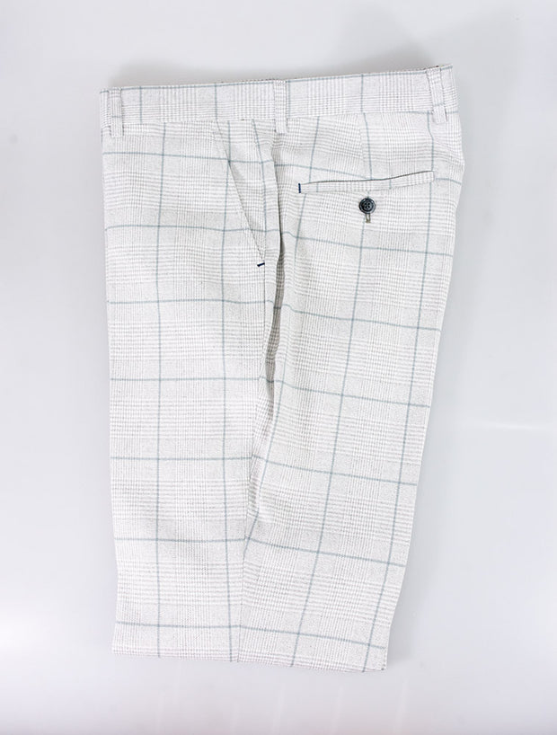 Radika Light Grey Check Trousers