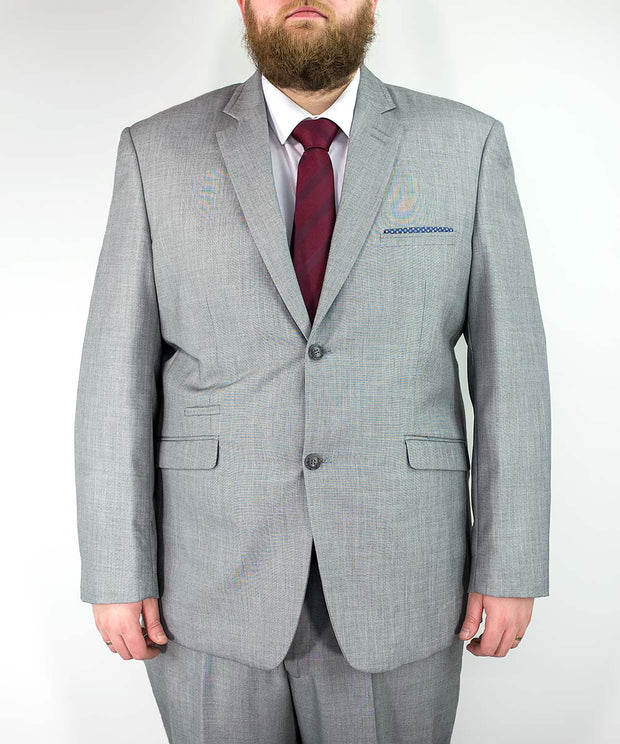 Reegan Grey Wedding Suit Extra Large