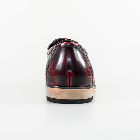 Rex Wine Formal Shoes