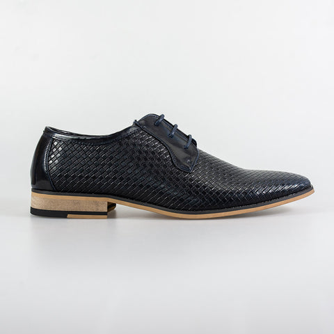 Rex Navy Formal Shoes