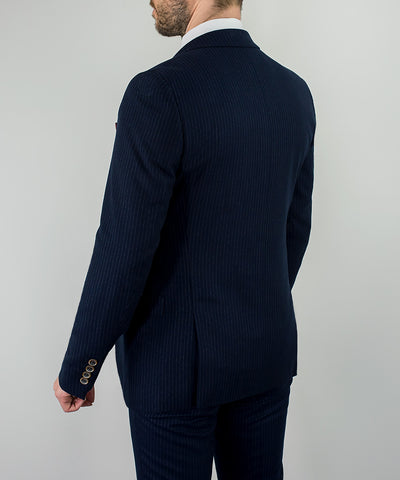 Roselli Slim Fit Pin Stripe Suit